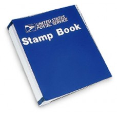 "Retail Stamp Book. Tabs 1-31, with Logo. 10"" x 11-3/4"" Blue. N1026901"