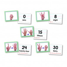 American Sign Language Cards Number 0-30