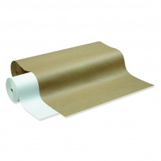 "Kraft Paper Roll, 40 lbs., 24"" x 1000 ft, White"