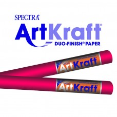 "Spectra ArtKraft Duo-Finish Paper, 48 lbs., 48"" x 200 ft, Flame"