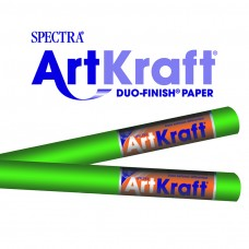 "Spectra ArtKraft Duo-Finish Paper, 48 lbs., 48"" x 200 ft, Bright Green"