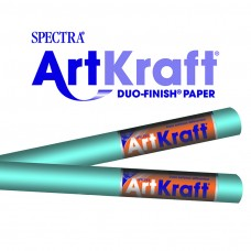 "Spectra ArtKraft Duo-Finish Paper, 48 lbs., 48"" x 200 ft, Sky Blue"