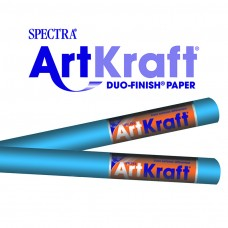 "Spectra ArtKraft Duo-Finish Paper, 48 lbs., 48"" x 200 ft, Bright Blue"