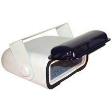 Universal Marine Stereo Housing with Full Chassis-Wired Casing (White)