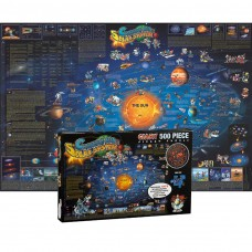 Solar System Map Jigsaw Puzzle