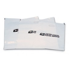 "Hold Mail/Retail Bag. USPS Logo. 0.03 Mil thick, 20""Wx30""H Blk text. S1005520"