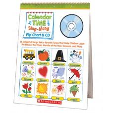 Calendar Time Sing Along Flip Chart
