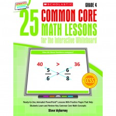25 Common Core Gr 4 Math Lessons For The Interactive Whiteboard