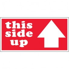 """2"""" x 4"""" - """"This Side Up"""" Arrow Labels"""
