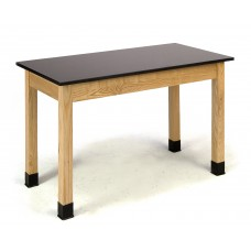 """Science Lab Table 36""""H - Phenolic Top - Plain Front - 30 x 60"""