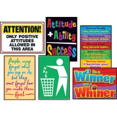 Attitude Matters Posters Combo Pack