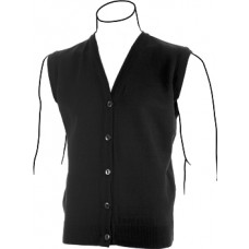V-neck Button Vest